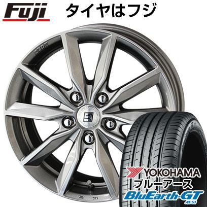 タイヤはフジ 送料無料 KYOHO 共豊 キョウホウ ザインSV 7J 7.00-17 YOKOHAMA ブルーアース GT AE51 205/50R17 17インチ サマータイヤ ホイール4本セット