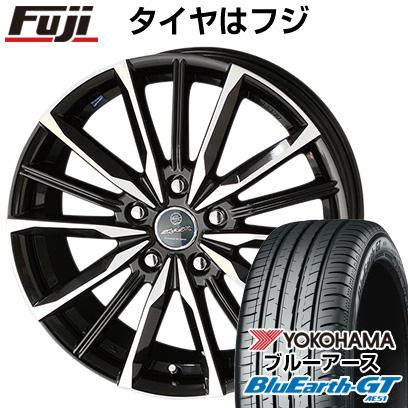 タイヤはフジ 送料無料 KYOHO 共豊 スマック プライム ヴァルキリー 6J 6.00-15 YOKOHAMA ブルーアース GT AE51 205/65R15 15インチ サマータイヤ ホイール4本セット