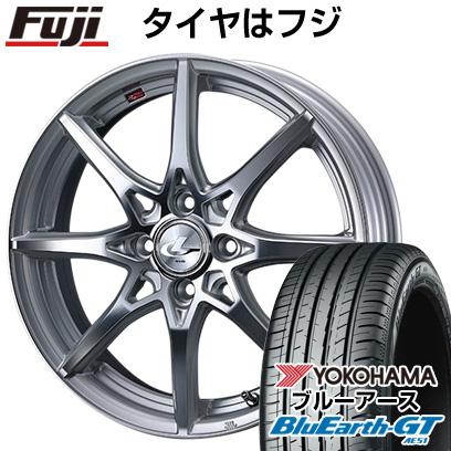 【取付対象】 【送料無料】 175/65R15 15インチ WEDS ウェッズ レオニス SV 5.5J 5.50-15 YOKOHAMA ヨコハマ ブルーアース GT AE51 サマータイヤ ホイール4本セット
