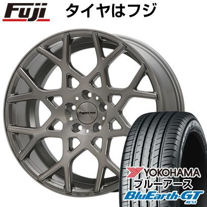 タイヤはフジ 送料無料 MLJ ハイペリオン CVZ 8.5J 8.50-19 YOKOHAMA ブルーアース GT AE51 225/45R19 19インチ サマータイヤ ホイール4本セット