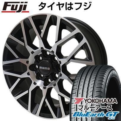 タイヤはフジ 送料無料 MOMO モモ リベンジEVO 7J 7.00-16 YOKOHAMA ブルーアース GT AE51 215/65R16 16インチ サマータイヤ ホイール4本セット