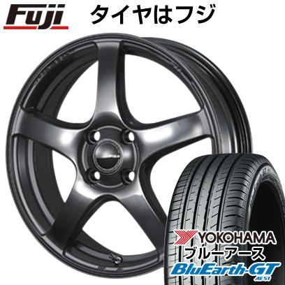 タイヤはフジ 送料無料 PIAA エレガンツァ S-01 5.5J 5.50-15 YOKOHAMA ブルーアース GT AE51 185/65R15 15インチ サマータイヤ ホイール4本セット