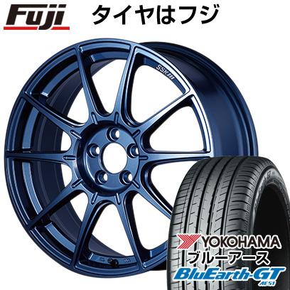タイヤはフジ 送料無料 SSR GTX01 LIMITED EDITION 7.5J 7.50-18 YOKOHAMA ブルーアース GT AE51 225/40R18 18インチ サマータイヤ ホイール4本セット