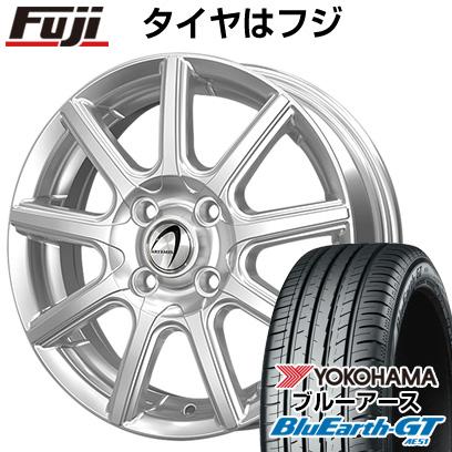タイヤはフジ 送料無料 TECHNOPIA テクノピア アルテミス NS9 4.5J 4.50-14 YOKOHAMA ブルーアース GT AE51 155/65R14 14インチ サマータイヤ ホイール4本セット