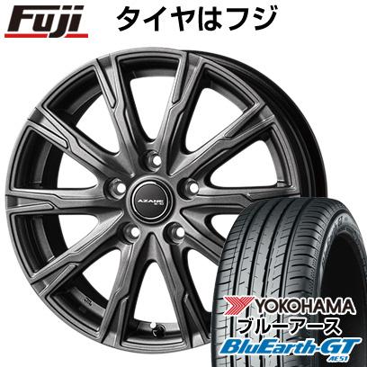 タイヤはフジ 送料無料 TOPY トピー アザーネ E10 7J 7.00-17 YOKOHAMA ブルーアース GT AE51 205/50R17 17インチ サマータイヤ ホイール4本セット