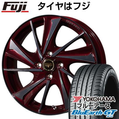 タイヤはフジ 送料無料 TOPY トピー ドルフレン ヴァルネ 6.5J 6.50-17 YOKOHAMA ブルーアース GT AE51 205/45R17 17インチ サマータイヤ ホイール4本セット