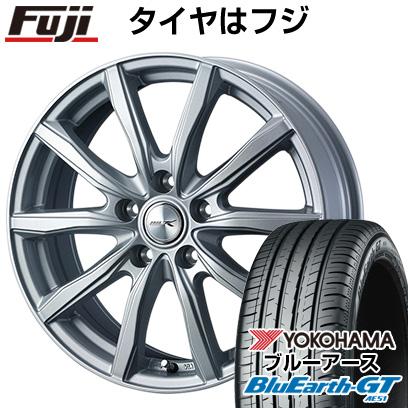 タイヤはフジ 送料無料 WEDS ウェッズ ジョーカー シェイク 6J 6.00-15 YOKOHAMA ブルーアース GT AE51 205/65R15 15インチ サマータイヤ ホイール4本セット