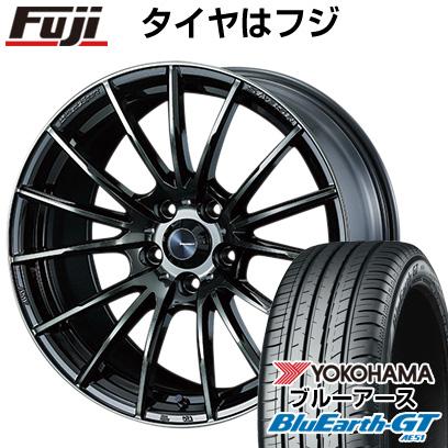割引購入 タイヤはフジ 送料無料 WEDS ウェッズスポーツ SA-35R 7J 7.00-16 YOKOHAMA ブルーアース GT AE51 205/55R16 16インチ サマータイヤ ホイール4本セット, 松阪牛の長太屋 cde82d91