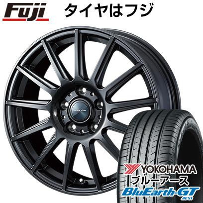 タイヤはフジ 送料無料 WEDS ウェッズ ヴェルバ イゴール 6J 6.00-15 YOKOHAMA ブルーアース GT AE51 205/65R15 15インチ サマータイヤ ホイール4本セット