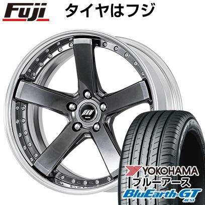 タイヤはフジ 送料無料 WORK ワーク バックレーベルジースト BST-2 8J 8.00-19 YOKOHAMA ブルーアース GT AE51 235/35R19 19インチ サマータイヤ ホイール4本セット