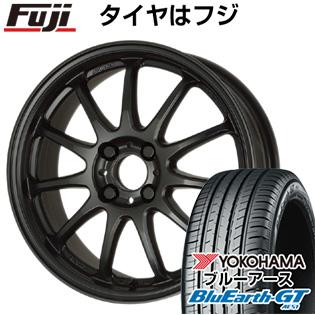 タイヤはフジ 送料無料 WORK ワーク エモーション 11R 5J 5.00-15 YOKOHAMA ブルーアース GT AE51 165/55R15 15インチ サマータイヤ ホイール4本セット