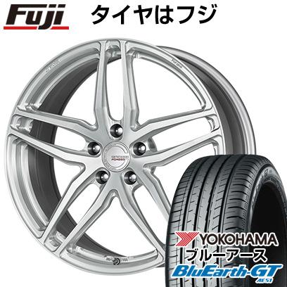 タイヤはフジ 送料無料 WORK ワーク グノーシスFMB 02 8J 8.00-19 YOKOHAMA ブルーアース GT AE51 245/45R19 19インチ サマータイヤ ホイール4本セット