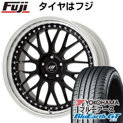 タイヤはフジ 送料無料 WORK ワーク ジスタンス W10M 8J 8.00-19 YOKOHAMA ブルーアース GT AE51 235/40R19 19インチ サマータイヤ ホイール4本セット