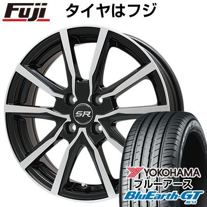 【送料無料】 185/60R15 15インチ BRANDLE ブランドル N52BP 5.5J 5.50-15 YOKOHAMA ヨコハマ ブルーアース GT AE51 サマータイヤ ホイール4本セット