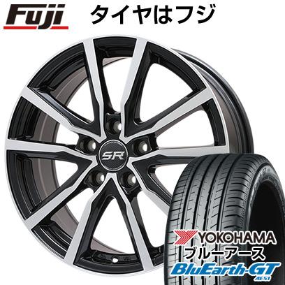 【送料無料】 155/65R14 14インチ BRANDLE ブランドル N52BP 4.5J 4.50-14 YOKOHAMA ヨコハマ ブルーアース GT AE51 サマータイヤ ホイール4本セット