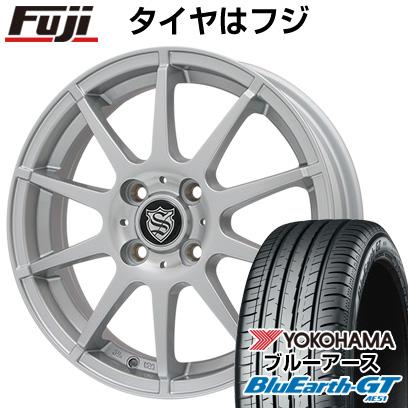 【送料無料】 155/65R14 14インチ BRANDLE ブランドル 562SS 4.5J 4.50-14 YOKOHAMA ヨコハマ ブルーアース GT AE51 サマータイヤ ホイール4本セット