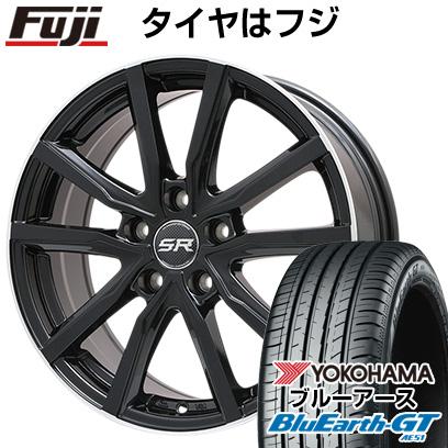 【送料無料】 205/60R16 16インチ BRANDLE ブランドル N52B 6J 6.00-16 YOKOHAMA ヨコハマ ブルーアース GT AE51 サマータイヤ ホイール4本セット