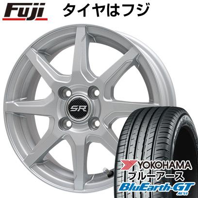 【送料無料】 155/65R14 14インチ BRANDLE ブランドル S8 4.5J 4.50-14 YOKOHAMA ヨコハマ ブルーアース GT AE51 サマータイヤ ホイール4本セット