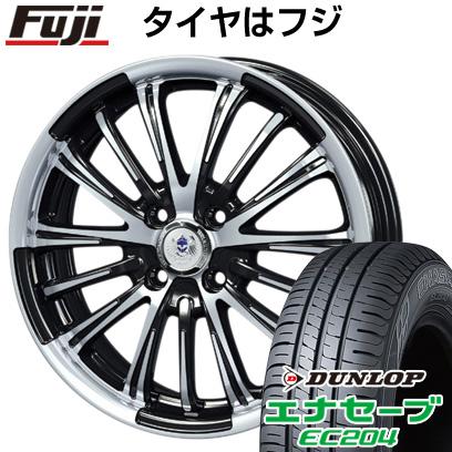 タイヤはフジ 送料無料 BLEST ブレスト バーンズテック VR-01 5J 5.00-16 DUNLOP エナセーブ EC204 165/50R16 16インチ サマータイヤ ホイール4本セット