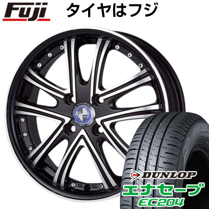 タイヤはフジ 送料無料 MONZA モンツァ ワーウィック DS.05 5J 5.00-15 DUNLOP エナセーブ EC204 165/50R15 15インチ サマータイヤ ホイール4本セット