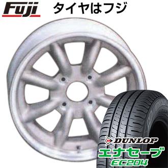 タイヤはフジ 送料無料 WATANABE ワタナベ エイトスポーク 7J 7.00-16 DUNLOP エナセーブ EC204 185/55R16 16インチ サマータイヤ ホイール4本セット