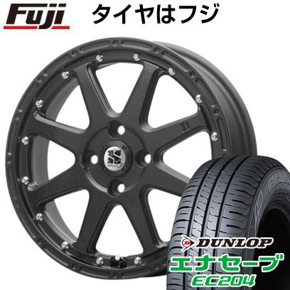 タイヤはフジ 送料無料 MLJ エクストリームJ 4.5J 4.50-14 DUNLOP エナセーブ EC204 165/60R14 14インチ サマータイヤ ホイール4本セット