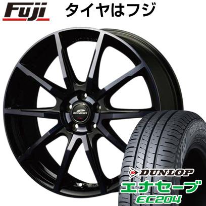 タイヤはフジ 送料無料 MID シュナイダー DR-01 7J 7.00-17 DUNLOP エナセーブ EC204 215/55R17 17インチ サマータイヤ ホイール4本セット