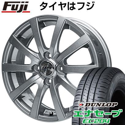 タイヤはフジ 送料無料 MONZA モンツァ ZACK JP-110 10スポーク 5.5J 5.50-15 DUNLOP エナセーブ EC204 185/55R15 15インチ サマータイヤ ホイール4本セット
