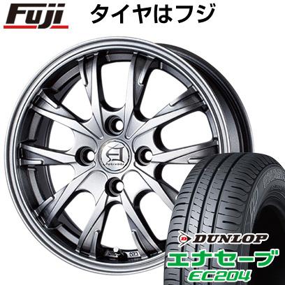 タイヤはフジ 送料無料 TECHNOPIA テクノピア アフロディーテ GX 6J 6.00-15 DUNLOP エナセーブ EC204 195/65R15 15インチ サマータイヤ ホイール4本セット