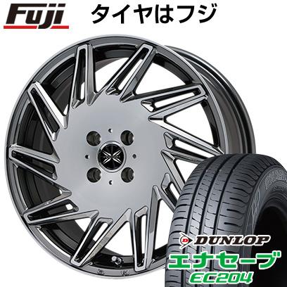 タイヤはフジ 送料無料 PREMIX プレミックス バリック(BMCポリッシュ) 6.5J 6.50-16 DUNLOP エナセーブ EC204 195/50R16 16インチ サマータイヤ ホイール4本セット