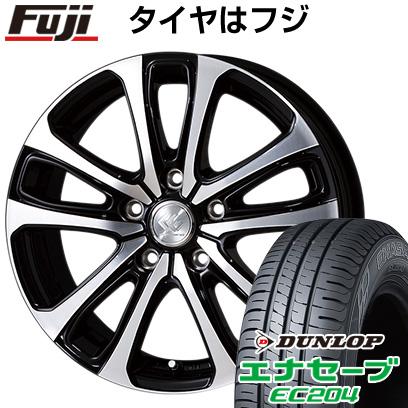 タイヤはフジ 送料無料 TOPY トピー セレブロ LF5 6.5J 6.50-16 DUNLOP エナセーブ EC204 215/60R16 16インチ サマータイヤ ホイール4本セット