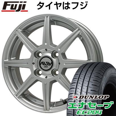 タイヤはフジ 送料無料 CLIMATE クライメイト アリア 5.5J 5.50-14 DUNLOP エナセーブ EC204 165/65R14 14インチ サマータイヤ ホイール4本セット