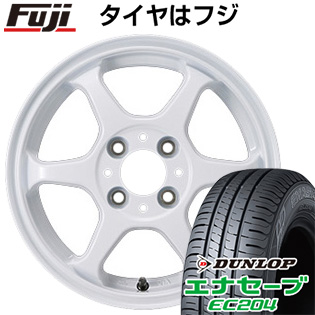 タイヤはフジ 送料無料 カジュアルセット タイプL 2. 4.5J 4.50-14 DUNLOP エナセーブ EC204 165/55R14 14インチ サマータイヤ ホイール4本セット