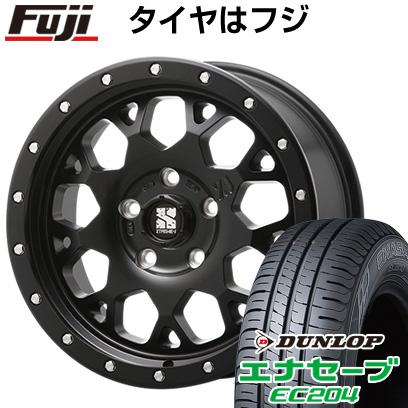 タイヤはフジ 送料無料 MLJ エクストリームJ XJ04 4.5J 4.50-14 DUNLOP エナセーブ EC204 155/65R14 14インチ サマータイヤ ホイール4本セット