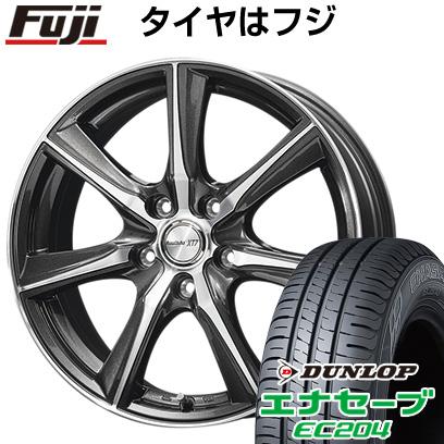 タイヤはフジ 送料無料 フリード 5穴/114 DUNLOP ロフィーダ XT7 6J 6.00-15 DUNLOP エナセーブ EC204 185/65R15 15インチ サマータイヤ ホイール4本セット