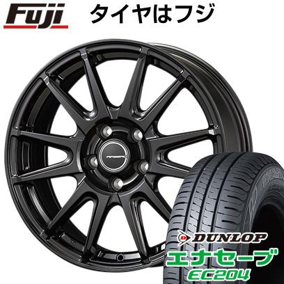 タイヤはフジ 送料無料 KOSEI コーセイ エアベルグ レバンナ 6.5J 6.50-16 DUNLOP エナセーブ EC204 205/60R16 16インチ サマータイヤ ホイール4本セット