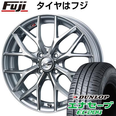 タイヤはフジ 送料無料 WEDS ウェッズ レオニス MX 5J 5.00-16 DUNLOP エナセーブ EC204 165/50R16 16インチ サマータイヤ ホイール4本セット