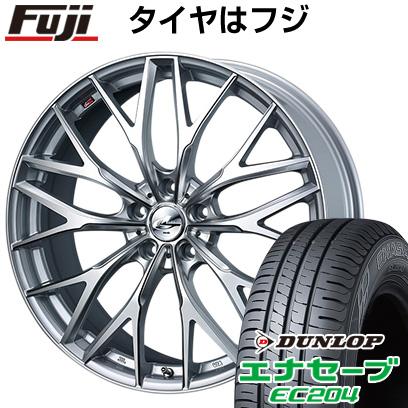 タイヤはフジ 送料無料 WEDS ウェッズ レオニス MX 7J 7.00-17 DUNLOP エナセーブ EC204 215/45R17 17インチ サマータイヤ ホイール4本セット