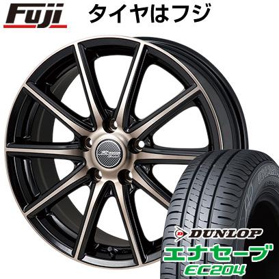 タイヤはフジ 送料無料 MONZA モンツァ Rバージョンスプリント 6J 6.00-15 DUNLOP エナセーブ EC204 195/65R15 15インチ サマータイヤ ホイール4本セット