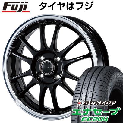 タイヤはフジ 送料無料 PIAA モトリズモTS-6 5.5J 5.50-15 DUNLOP エナセーブ EC204 175/55R15 15インチ サマータイヤ ホイール4本セット