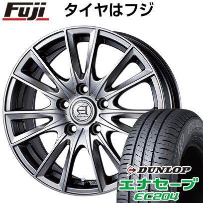 タイヤはフジ 送料無料 TECHNOPIA テクノピア アフロディーテ EF 7J 7.00-17 DUNLOP エナセーブ EC204 215/55R17 17インチ サマータイヤ ホイール4本セット