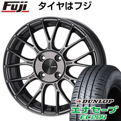 タイヤはフジ 送料無料 ENKEI エンケイ PFM1 5J 5.00-15 DUNLOP エナセーブ EC204 165/55R15 15インチ サマータイヤ ホイール4本セット