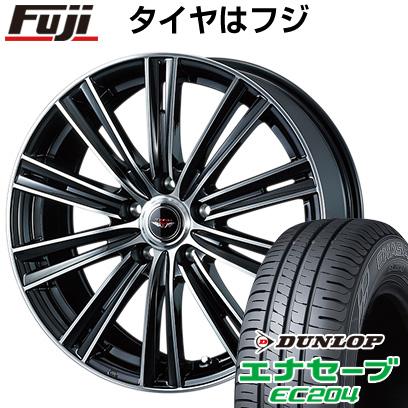 タイヤはフジ 送料無料 WEDS ウェッズ テッドスナップ 6.5J 6.50-16 DUNLOP エナセーブ EC204 195/60R16 16インチ サマータイヤ ホイール4本セット