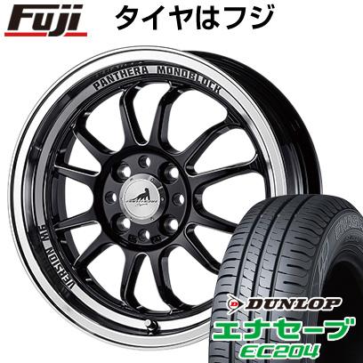 タイヤはフジ 送料無料 5ZIGEN ゴジゲン パンテーラ バージョンM6 5.5J 5.50-16 DUNLOP エナセーブ EC204 165/50R16 16インチ サマータイヤ ホイール4本セット