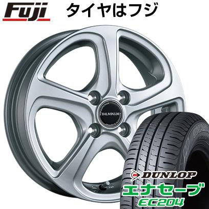 タイヤはフジ 送料無料 BRIDGESTONE ブリヂストン バルミナ ZR5 5.5J 5.50-14 DUNLOP エナセーブ EC204 185/70R14 14インチ サマータイヤ ホイール4本セット