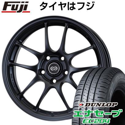 タイヤはフジ 送料無料 ENKEI エンケイ PF01 7J 7.00-17 DUNLOP エナセーブ EC204 215/55R17 17インチ サマータイヤ ホイール4本セット