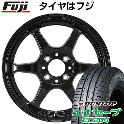 タイヤはフジ 送料無料 カジュアルセット タイプL 2. 5J 5.00-14 DUNLOP エナセーブ EC204 155/55R14 14インチ サマータイヤ ホイール4本セット