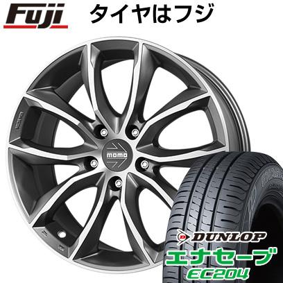 タイヤはフジ 送料無料 MOMO モモ スクリームジェットEVO 7J 7.00-16 DUNLOP エナセーブ EC204 205/65R16 16インチ サマータイヤ ホイール4本セット