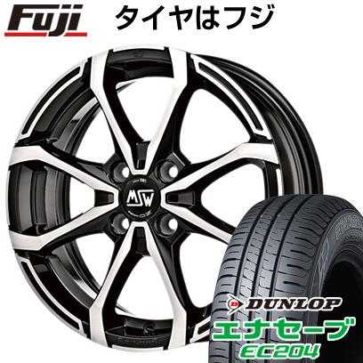 タイヤはフジ 送料無料 MSW by OZ Racing MSW X4 6J 6.00-16 DUNLOP エナセーブ EC204 175/60R16 16インチ サマータイヤ ホイール4本セット
