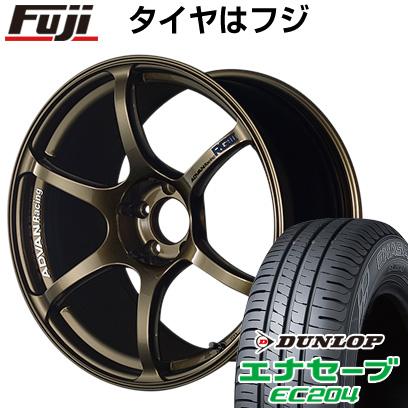 【ラッピング無料】 タイヤはフジ 送料無料 YOKOHAMA ヨコハマ アドバンレーシング RGIII 7.5J 7.50-18 DUNLOP エナセーブ EC204 215/50R18 18インチ サマータイヤ ホイール4本セット, 興部町 b62d66b9